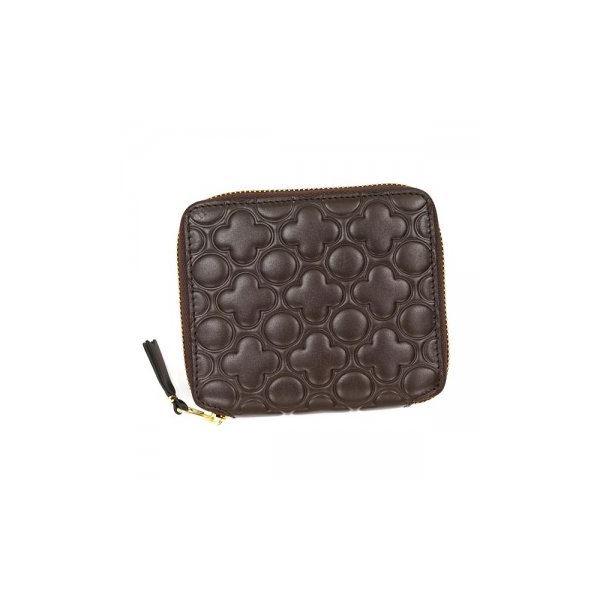 COMME des GARCONS(コムデギャルソン) 二つ折り財布(小銭入れ付) SA210E B BROWNf00