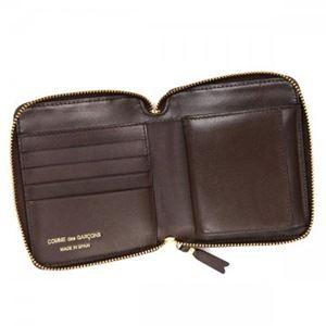 COMME des GARCONS(コムデギャルソン) 二つ折り財布(小銭入れ付) SA210E B BROWN h03