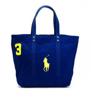 RalphLauren(ラルフローレン) トートバッグ 405532853 2 RUGBY ROYAL W/ YELLOW PP h01