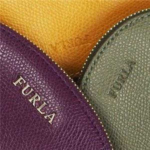 Furla(フルラ) ポーチ EJ05 UGS AUBERGINE+GIRASOLE+SALVIA f04