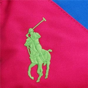 RalphLauren(ラルフローレン) バックパック 950077 FUCHSIA/ROYAL HIGH DENSITY POLYESTER- GREEN L