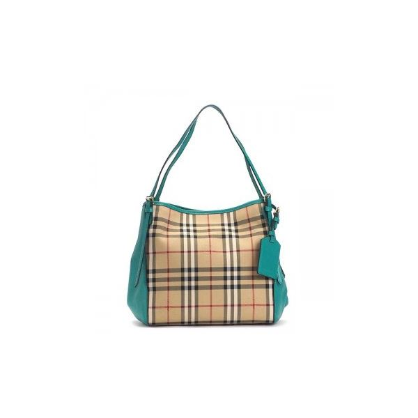 Burberry(バーバリー) ショルダーバッグ  SMCANTERBPAN  HONEY/AQUA GREENf00