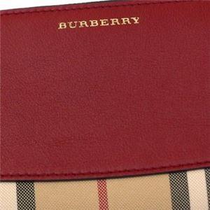 Burberry(バーバリー) 長財布  ELMORE  PARADE RED f04