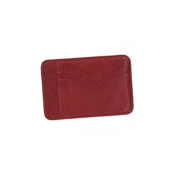 IL BISONTE(イルビゾンテ) カードケース  C0959 245 ROSSO RUBINOf00