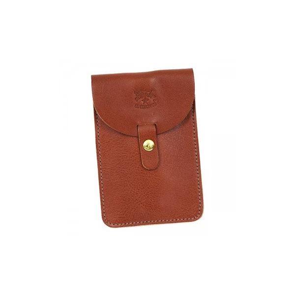 IL BISONTE(イルビゾンテ) カードケース  C0965 214 COGNACf00