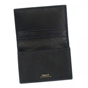 Bally(バリー) カードケース  TOBEL 290 BLACK BLACK/WHITE h02