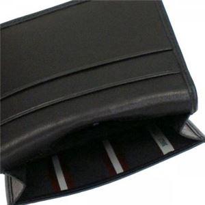 Bally(バリー) カードケース  TOBEL 290 BLACK BLACK/WHITE h03