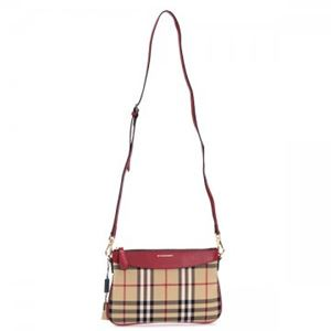 Burberry(バーバリー) ナナメガケバッグ PEYTON PARADE RED h02