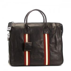 Bally(バリー) ブリーフケース TAJEST-MD 261 CHOCOLATE RED/WHITE h01