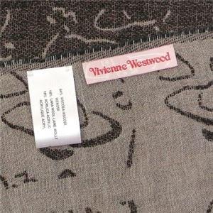 Vivienne Westwood(ヴィヴィアンウエストウッド) マフラー 55904 20841 5 BLACK h03