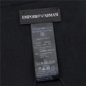EMPORIO ARMANI(エンポリオアルマーニ) マフラー 625221 20 BLACK h03