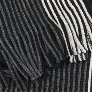 Calvin Klein(カルバンクライン) マフラー  77300 BKJ CHARCOAL/BLACK/SOFT GREY h02