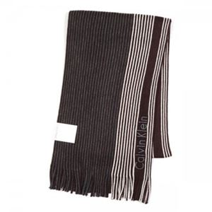 Calvin Klein(カルバンクライン) マフラー  77300 WGY CHARCOAL/CLARET/SOFT GREY h01