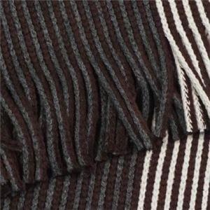 Calvin Klein(カルバンクライン) マフラー  77300 WGY CHARCOAL/CLARET/SOFT GREY h02