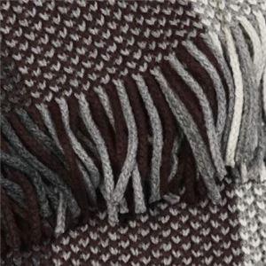 Calvin Klein(カルバンクライン) マフラー  77302 WGY CHARCOAL/CLARET/SOFT GREY