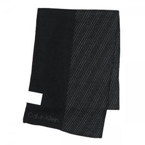 Calvin Klein(カルバンクライン) マフラー  77318 BKJ BLACK/CHARCOAL h01