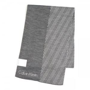 Calvin Klein(カルバンクライン) マフラー  77318 FLA FLANNEL/SOFT GREY h01