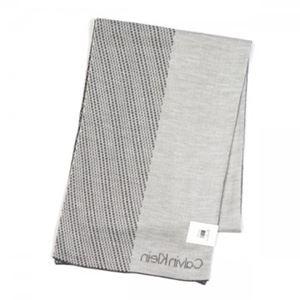 Calvin Klein(カルバンクライン) マフラー  77318 FLA FLANNEL/SOFT GREY h02