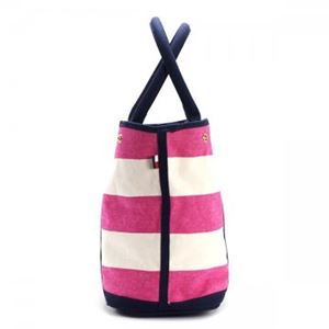 TOMMY HILFIGER(トミーヒルフィガー) トートバッグ 6932079 653 RASPBERRY/NATURAL h03