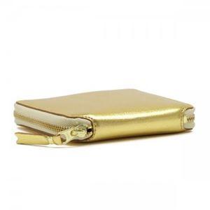 COMME des GARCONS(コムデギャルソン) 二つ折り財布(小銭入れ付) SA2100G GOLD h02