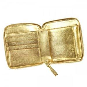 COMME des GARCONS(コムデギャルソン) 二つ折り財布(小銭入れ付) SA2100G GOLD h03