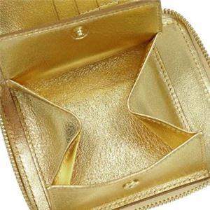 COMME des GARCONS(コムデギャルソン) 二つ折り財布(小銭入れ付) SA2100G GOLD f04