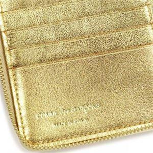 COMME des GARCONS(コムデギャルソン) 二つ折り財布(小銭入れ付) SA2100G GOLD f05