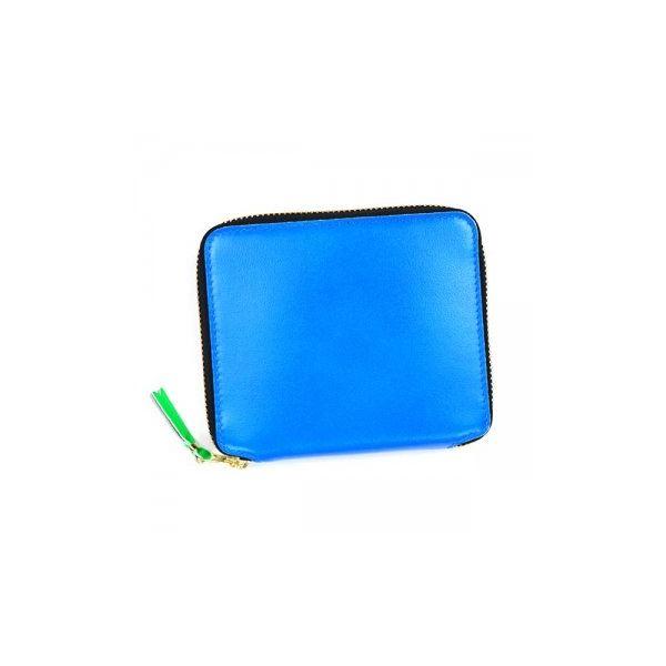 COMME des GARCONS(コムデギャルソン) 二つ折り財布(小銭入れ付) SA2100SF BLUEf00