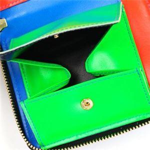 COMME des GARCONS(コムデギャルソン) 二つ折り財布(小銭入れ付) SA2100SF BLUE f04
