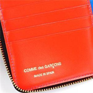 COMME des GARCONS(コムデギャルソン) 二つ折り財布(小銭入れ付) SA2100SF BLUE f05