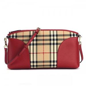 Burberry(バーバリー) ショルダーバッグ SM CHICHESTER HONEY/PARADE RED