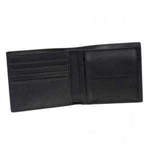 Burberry(バーバリー) 二つ折り財布(小銭入れ付) 3998943 CHOCOLATE/BLACK h03