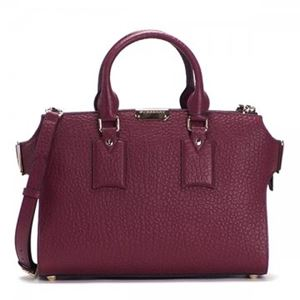 Burberry(バーバリー) ハンドバッグ  MD GAINSBRGH  DARK PLUM/CLARET