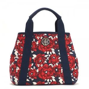 TOMMY HILFIGER(トミーヒルフィガー) トートバッグ 6933129 600 RED/NAVY