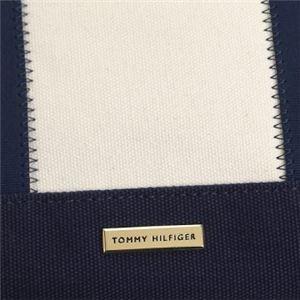 TOMMY HILFIGER(トミーヒルフィガー) トートバッグ  6933108 468 NAVY/RED