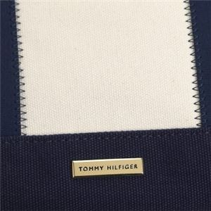 TOMMY HILFIGER(トミーヒルフィガー) トートバッグ  6933108 460 NAVY/SILVERLAKE f05