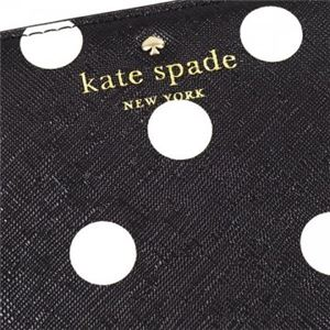 KATE SPADE(ケイトスペード) 長財布  PWRU4803 71 BLACK/CLOTTED CREAM//BLACK