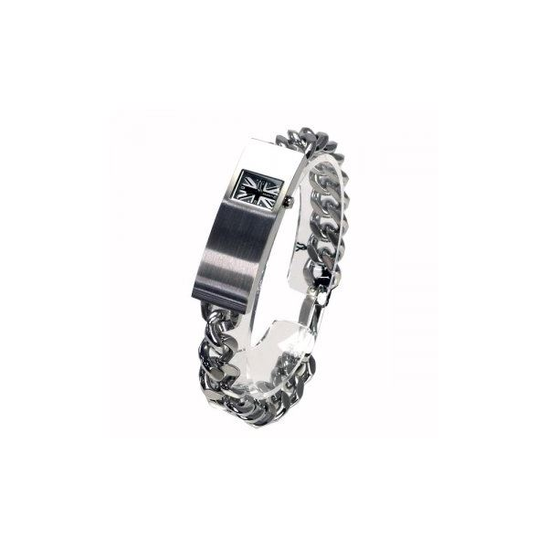 HAMNETT(ハムネット) 時計 HA3002B27 B27 シルバー(ケース) グレー(文字盤)f00