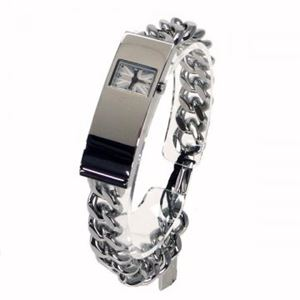 HAMNETT(ハムネット) 時計 HA3002B07 B07 シルバー(ケース) ホワイト(文字盤)
