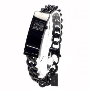HAMNETT(ハムネット) 時計 HA3302B37 B37 ブラック(ケース) ブラック(文字盤) h01