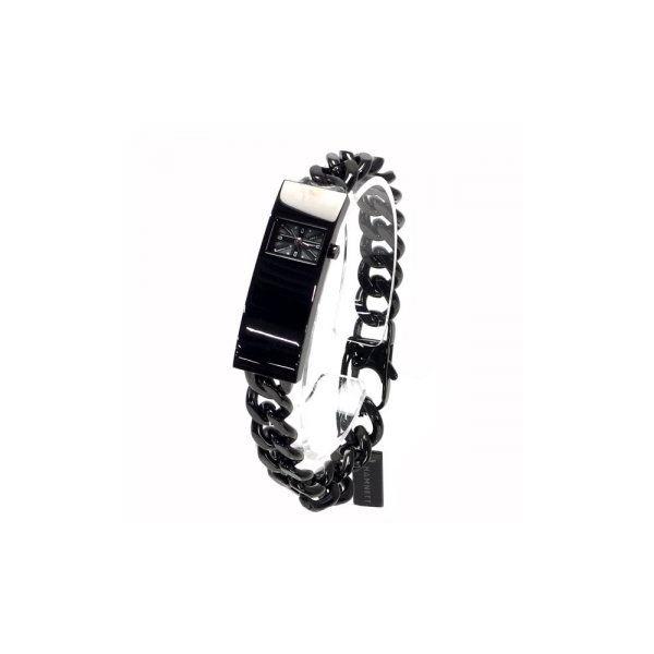 HAMNETT(ハムネット) 時計 HA3302B37 B37 ブラック(ケース) ブラック(文字盤)f00
