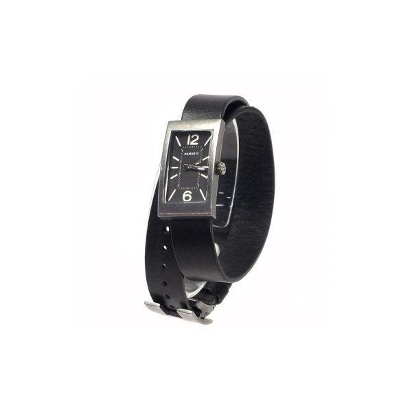 HAMNETT(ハムネット) 時計 HA310335 35 オールドアンチシルバー(ケース) ブラック(文字盤)f00