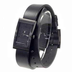 HAMNETT(ハムネット) 時計 HA330335 35 ブラック(ケース) ブラック(文字盤)