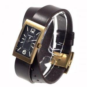HAMNETT(ハムネット) 時計 HA380335 35 イエローゴールド(ケース) ブラック(文字盤) - 拡大画像