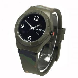 JACK SPADE(ジャックスペード) 時計 JSWURU0013 グレー(ケース) ブラク(文字盤) h01