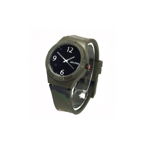 JACK SPADE(ジャックスペード) 時計 JSWURU0013 グレー(ケース) ブラク(文字盤)f00