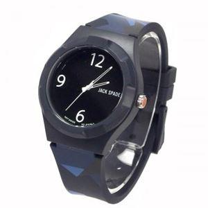 JACK SPADE(ジャックスペード) 時計 JSWURU0127 ブラック(ケース) ブラック(文字盤)