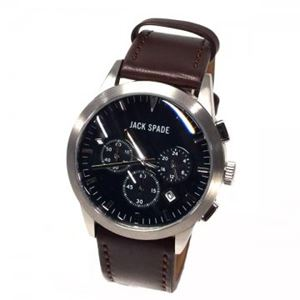 JACK SPADE(ジャックスペード) 時計 JSWURU0222 シルバー(ケース) ブラック(文字盤) h01
