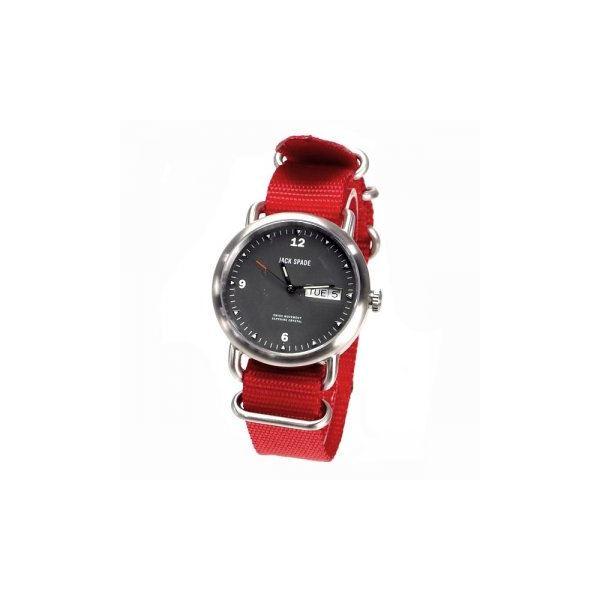 JACK SPADE(ジャックスペード) 時計 JSWURU0030 シルバー(ケース) ブラック(文字盤)f00