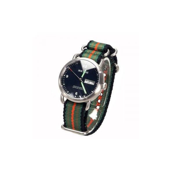 JACK SPADE(ジャックスペード) 時計 JSWURU0133 シルバー(ケース) ブラック(文字盤)f00
